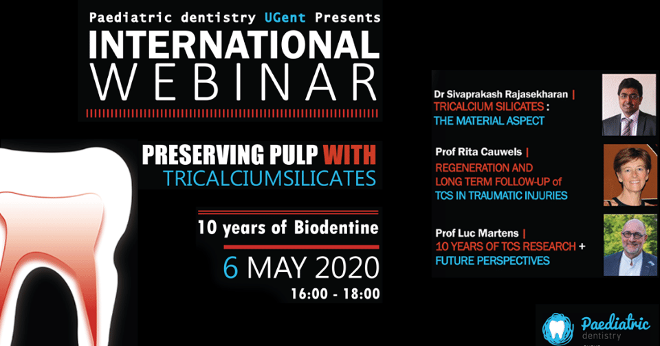 Preserving pulp with tricalcium silicates – Septodont & Ghent University webinar