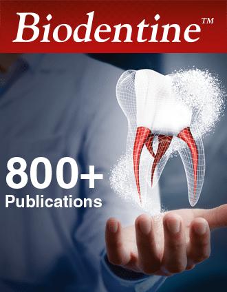 Biodentine: 800 publicaciones científicas