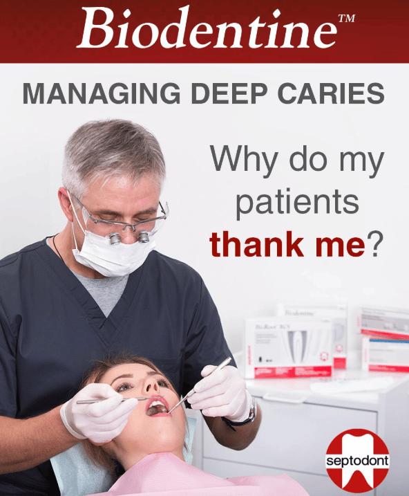 Managing deep caries